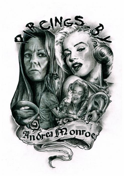 Marilyn Monroe por Tattooteddy